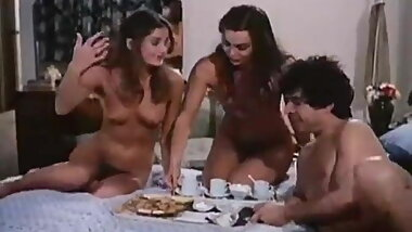 Luckiest guy on Earth (vintage threesome)