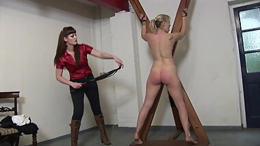 Lesbian Mistress - Whipping and Punishment